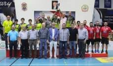 لقب الرجال للجنوب تول والسيدات للندوة القماطية في بطولة لبنان لكرة الطاولة
