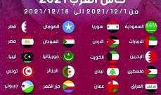 تحديد مواعيد مباريات بطولة كأس العرب