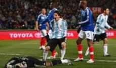 ميسي سجّل في آخر مواجهة للأرجنتين ضد فرنسا