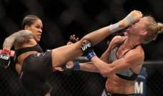 بطلة UFC 239 أماندا نونيس تحتفل بفوزها عبر تويتر