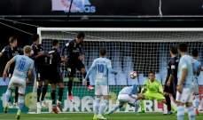 نقطة واحدة من ملقا تنقذ ريال مدريد