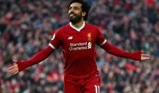 صلاح يتصدر قائمة افضل اللاعبين في الدوري الانكليزي