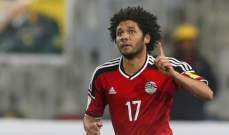 النني:لا نريد العودة إلى مصر دون تحقيق أي انتصار في المونديال