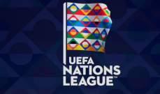 ترتيب المجموعات في الفئة الاولى من بطولة امم اوروبا