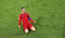 رونالدو يكمل الهاتريك ويعادل النتيجة مع اسبانيا 3 - 3
