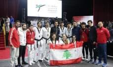 """9 ميداليات ملوّنة للمون لاسال في """"بطولة الحسن الأردنية الدولية"""" للتايكواندو"""