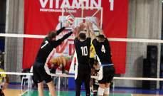 فوز البوشرية في افتتاح بطولة الكرة الطائرة برعاية وزير الشباب والرياضة