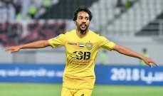 الوصل يستعيد مدافعه امام النصر بعد الغاء طرده في لقاء حتا