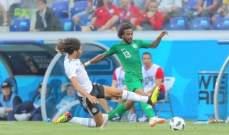 فرانس فوتبول تختار الشهراني والخزري في تشكيلة الجولة الثالثة للمونديال