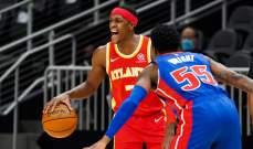 ديترويت يتعرض لخسارته الثالثة المتتالية، وباقي نتائج NBA