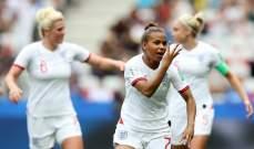كأس العالم للسيدات : انكلترا تتفوق على اسكتلندا بصعوبة