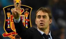 رسمياً: لوبيتيغي يجدّد عقده مع إسبانيا