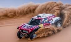 كارلوس ساينز يتوج بالمرحلة الثالثة من رالي المغرب