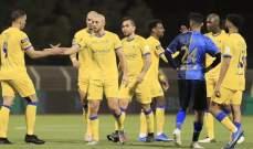 النصر يحسم مصير عدد من لاعبيه