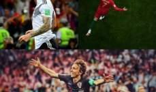 خاص : ريال مدريد يسيطر على مونديال روسيا 2018