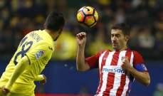 الليغا تؤكد إحترامها قرار القضاء حول مباراة فياريال وأتلتيكو مدريد