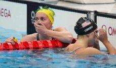 اولمبياد طوكيو: رقم قياسي جديد في سباق 100 متر حرة