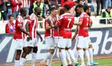 الدوري التركي: فوز المتصدر سيفاس سبور وباشاك شهير يتخطى قيصري سبور