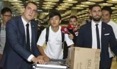 تاكيفوسا يصل الى مدريد