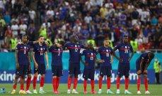 إحصاءات من مباراة فرنسا - سويسرا