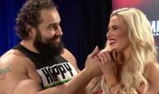 WWE : لانا تنضم الى روسيف في مواجهة الزوجي المختلط