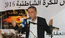 وفاة رئيس نادي الحرية صيدا