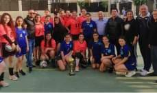 انطلاق مهرجان نادي الخريجين الرياضي جبيل الثالث بمسابقة كرة الطائرة