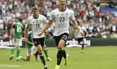 التشكيلة الرسمية لمواجهة ألمانيا - سلوفاكيا
