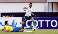 أحد السعودي يتخلى عن اللاعب المصري أحمد جمعة