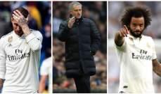 كبار لاعبي ريال مدريد يرفضون خطط اعادة مورينيو