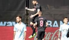الليغا: ريال مدريد يخطف المركز الثاني من برشلونة بفوز صعب امام سيلتا فيغو