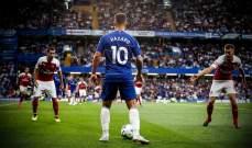 هازارد أفضل لاعب في الدوري الإنكليزي بتصويت الجمهور
