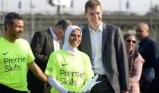 فايزة حيدر أول امرأة تدرب فريقاً محترفاً للرجال في مصر