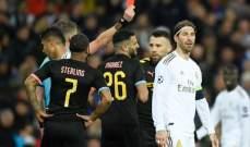 اليويفا يرفض استئناف ريال مدريد بشأن طرد راموس