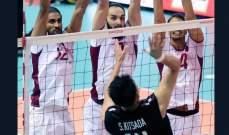 قطر تواجه اليابان في نصف نهائي كأس النخبة الآسيوي للكرة الطائرة