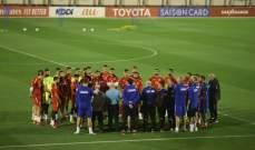 هاشم حيدر للاعبي منتخب لبنان: مؤهلون للتميّز وعطاؤكم مقدّر