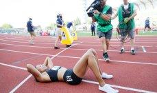الأميركية فيليكس تضمن مشاركتها الأولمبية الخامسة وغاتلين يخفق في 100 م