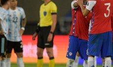تقييم نجوم منتخبي تشيلي والارجنتين بعد التعادل في كوبا اميركا