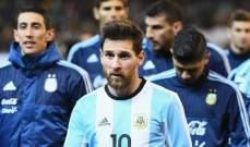 قائمة الأرجنتين تشهد غياب ميسي وأغويرو ودي ماريا
