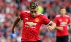 أندرياس بيريرا يخاطر بمستقبله في مانشستر يونايتد