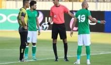 التعادل يحسم مواجهة الاتحاد السكندري مع المقاولون في افتتاح الدوري المصري