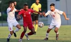 ناشئو قطر يحققون الانتصار امام ناشئو لبنان