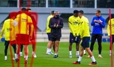 برشلونة يعود للتدريبات استعداداً لمواجهة سيلتا فيغو
