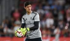 ريال مدريد خائب الأمل وعلى استعداد لبيع كورتوا