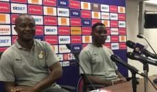مدرب غانا: لا نخشى الكاميرون