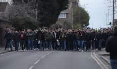 """الآلاف من جماهير بايرن ميونيخ يزحفون إلى ملعب """"انفيلد"""""""