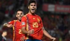 برشلونة وتوتنهام رفضا ضم اسينسيو عام 2014