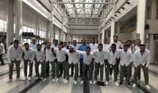 بعثة نادي العهد تغادر إلى البحرين