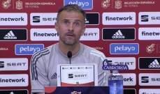 انريكي يعلق على حالة التأهب في مدريد قبل مواجهة سويسرا