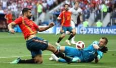 ايغور اكينفييف افضل لاعب خلال مواجهة روسيا واسبانيا